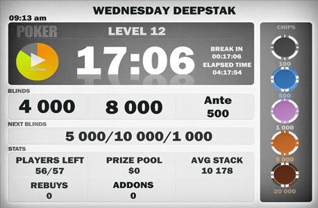 Horloge poker tournoi raptor bet poker